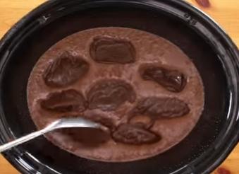 chocolate lava cake prep